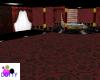 Red formal room