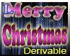 Christmas sign (drv).
