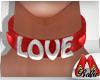 (BL)Choker Valentin LOVE