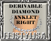 ! Derivable Anklet Right