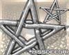 *MD*Wikka Star Earrings