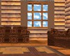 realistic log cabin