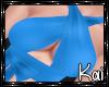 SEXY SASSY BLUE TOP