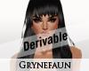 Derivable long hair 14