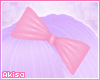 |A| Pink Hair Bow