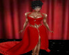 TEF RED JEWLED GOWN