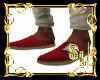 *Boho Red Shoes