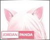 Pink/White Ear Neko