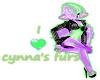 i support Cynna