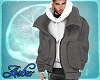 Grey jacket/ Hoodie