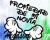 Propiedad Novia Headsign