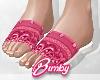 Bandana Slides Pink