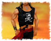 ! Pirate skull T shirt