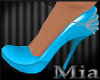[mm] Chained Blue shoes