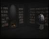 Dark Library Room