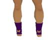 purple socks  butterfly