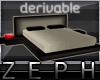 [Z] Drv. Modern Bed