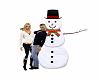 Christmas Snowman Poses