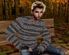 Thick Wool Sweater -M-