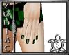 Green Check Nails