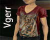 Sexy Red Tiger Shirt