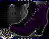 曆 Lala Boots Purple