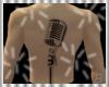 ~ Microphone Back Tattoo