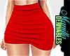 ! Red Date Mini Skirt