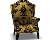 Golden Velvet Chair