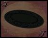 Black Oval Rug