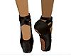 Black Ballet Shoes
