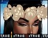 Nude Flower Headband