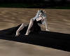 Black Beach Towel 4 Pose