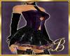 Violet burlesque dress