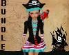 Kid Pirate Bundle Girl
