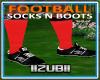 FOOTBALL SOCKS n BOOTS