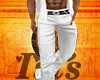 I~Muscled White Jeans