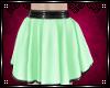 ℳ Gothica Green Skirt