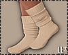 Socks Cream Wool Winter
