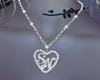 SN Heart Necklace