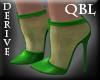 Emerald  Ankle Heels