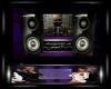 Myla Purple Wall Radio