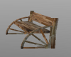 Country Wagon Wheel Seat