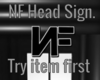 NF Head Sign.