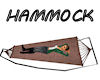 !Camp hammock burgundy