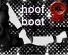 white hoof boots