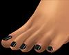 Bare Feet Black
