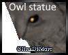 (OD) Owl statue