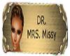 Dr Missy Name Tag
