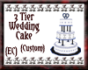 {EC}Custom Wedding Cake